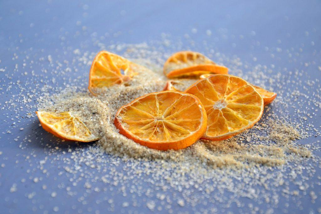 citrusi za novoletno smrečico