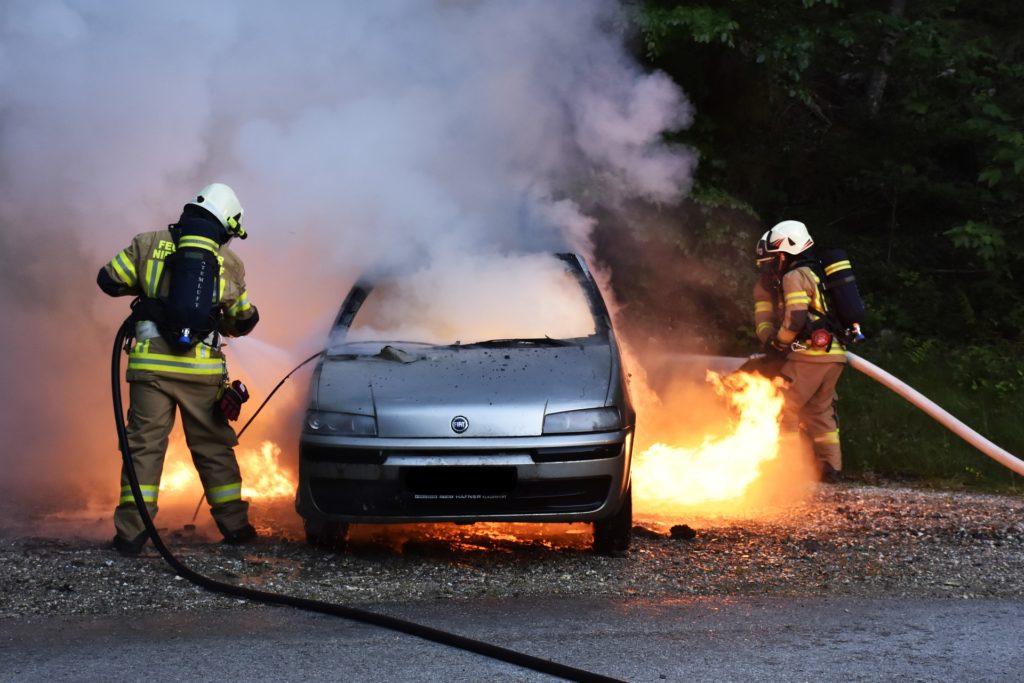 požar vozila