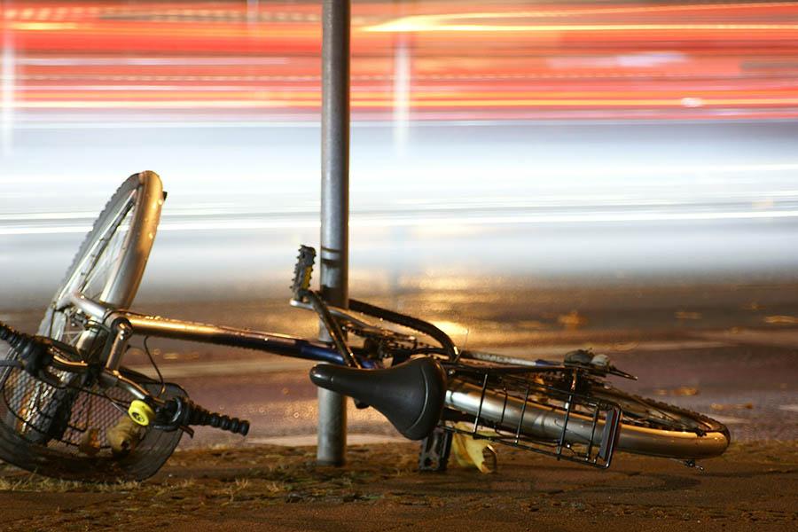 kolesarska nesreča