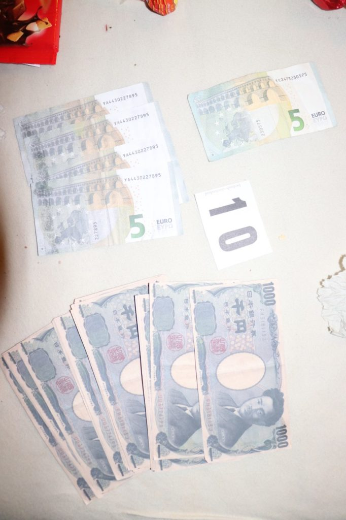 ponarejen denar