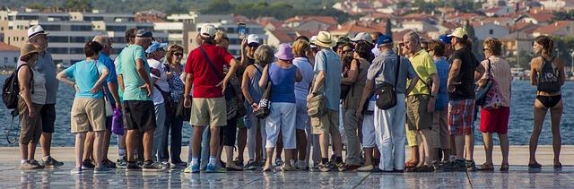 hrvaška turisti