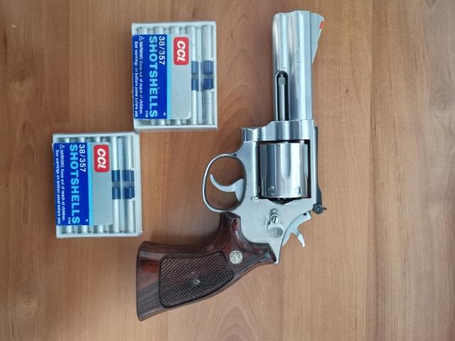 revolver in naboji