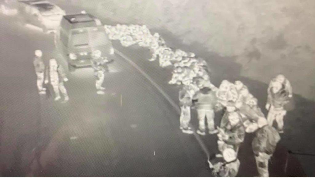 policijska racija migranti