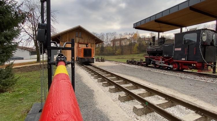 Vlak Zreče Železniška postaja
