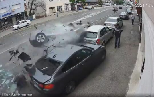 video prometna nesreča zagrab