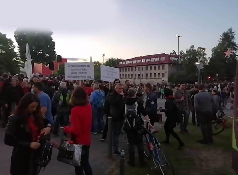 protestni shod ljubljana