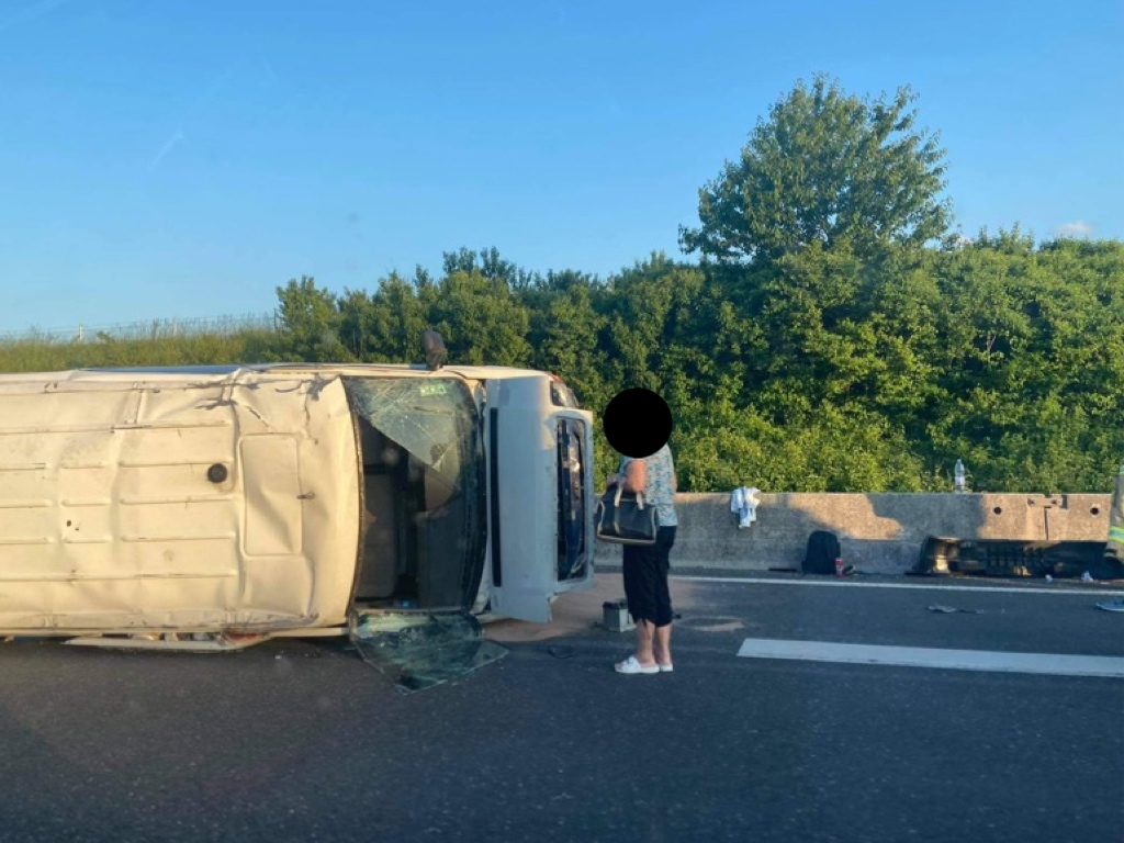 Prometna nesreča šempeter
