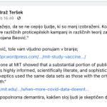Dr. Andraž Teršek povabil dr. Beović na IQ test!